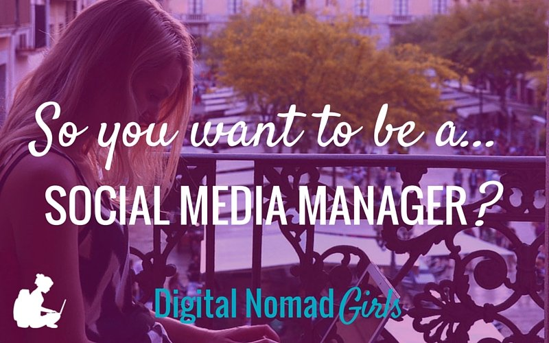 So, you wanna be a…social media manager
