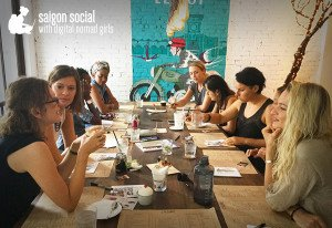 Digital Nomad Girls Meetup Saigon Social