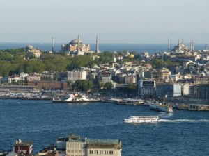 Istanbul view over bosporus Digital Nomad Girls