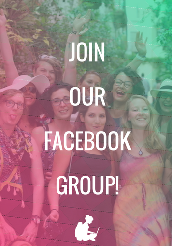 Join our Facebook Group image with Digital Nomad Girls