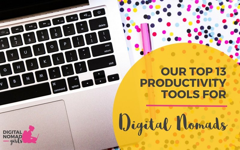 Our Our Top 13 Productivity Tools for Digital Nomad Girls