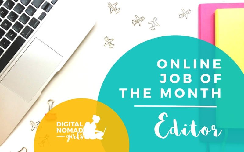 Online Job of the month Editor featured image