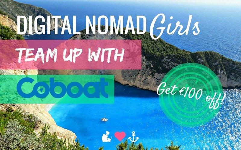 Digital Nomad Girls Team up with Coboat