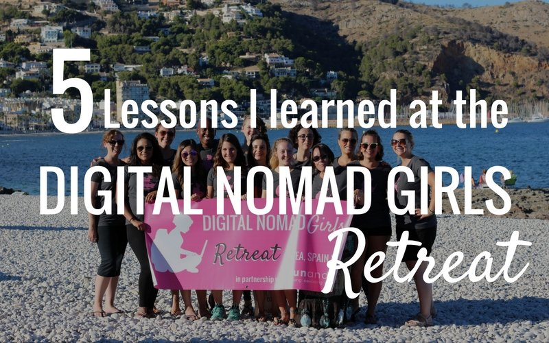 Featured Image of Lessons from first Digital Nomad Girls Retreat
