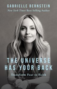 Gabby Bernstein The Universe Has Your Back Book Cover
