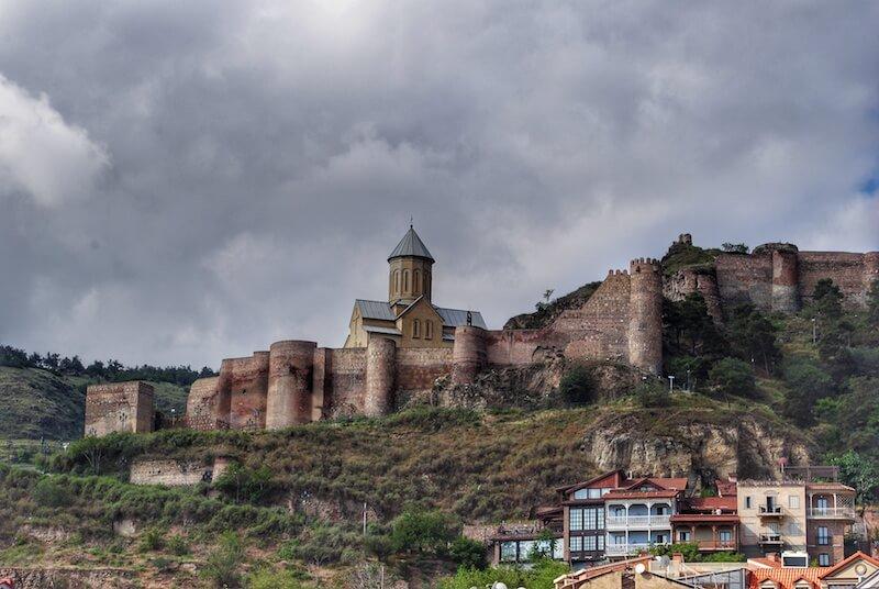 tbilisi-georgia-Narikala-fortress