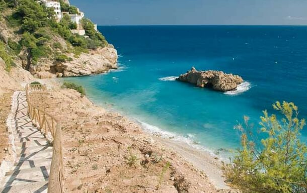 Coastal walk in Javea