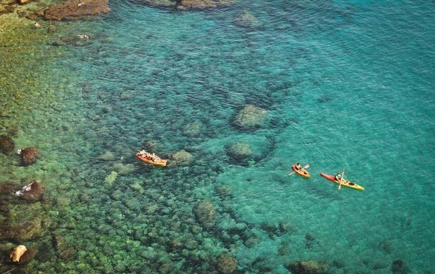 Kayaking in Javea