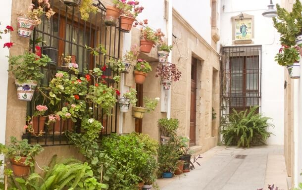 Old town of Javea