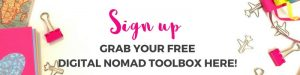 Digital Nomad Girls Toolbox Sign Up