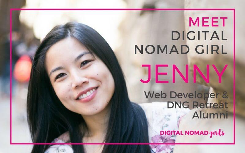 Meet Digital Nomad Girl Jenny – Web Developer