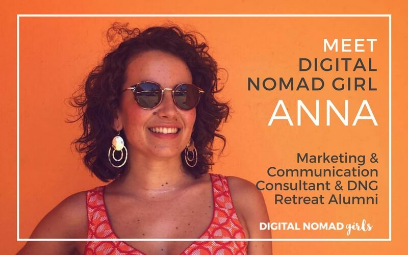 Meet Digital Nomad Girl Anna – Marketing & Communication Consultant