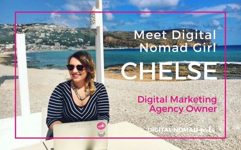Meet Digital Nomad Girl Chelse – Digital Marketing Agency Owner