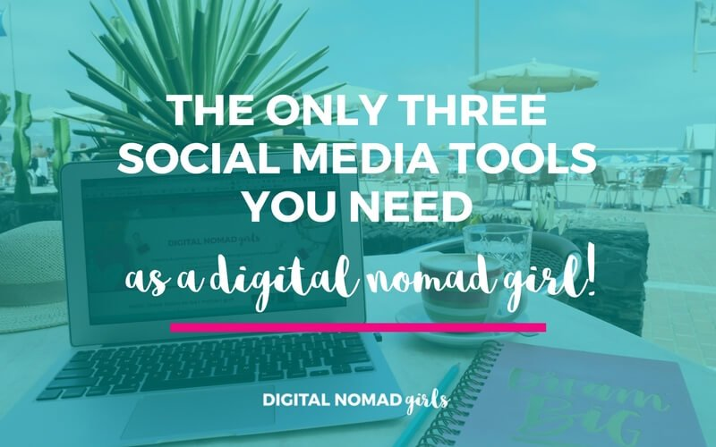 The Only Three Social Media Tools You Need