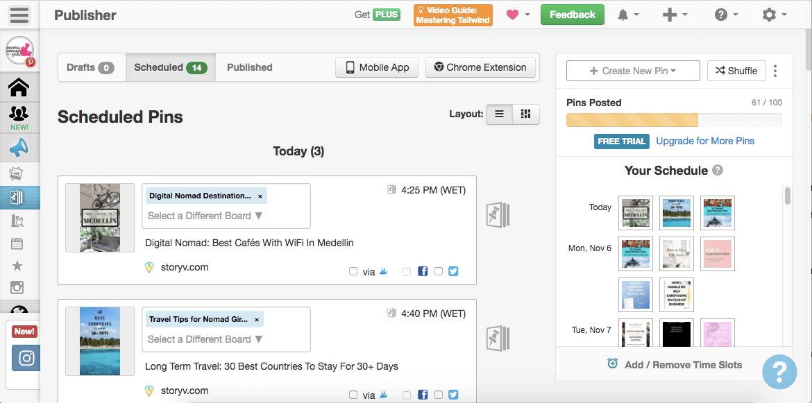 The only three social media tools you need Tailwind