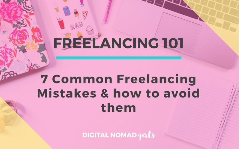 7 freelancing mistakes featured image