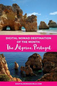 Algarve for Digital Nomads Pinterest