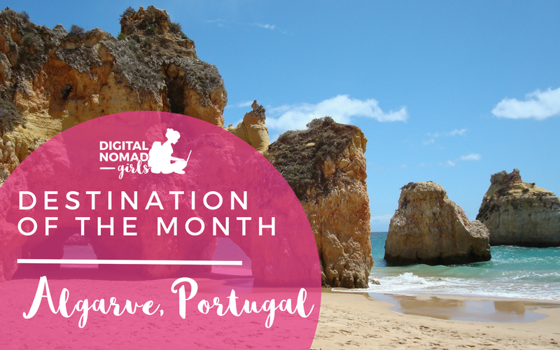 Algarve for Digital Nomads: Destination of the Month