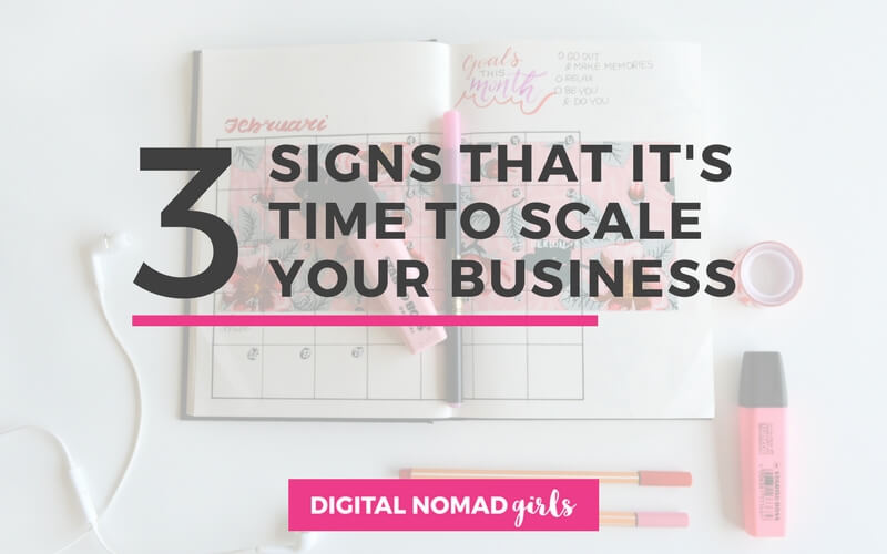 3 Signs That It's Time To Scale Your Business