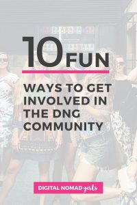 10 Fun Ways to get involved in the DNG Community Pinerest (1)
