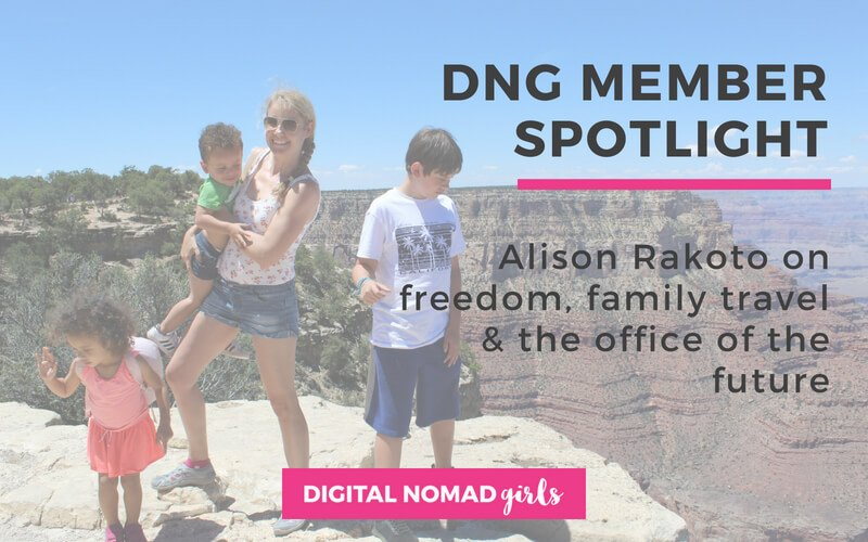 Meet Digital Nomad Girl Alison Rakoto – Career Strategist, LinkedIn Expert and Mum of 4!