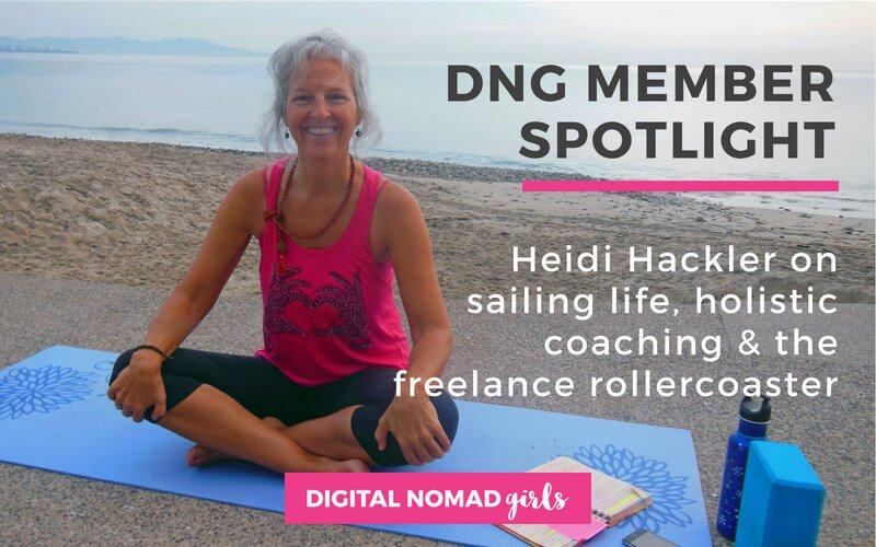 Meet Digital Nomad Girl Heidi – Sailor and Wellness Coach