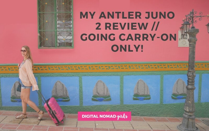My Antler Juno 2 Review – Going Carry-On Only