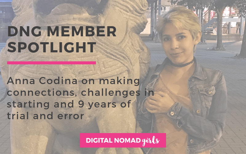 Meet Digital Nomad Girl Anna – Copywriter and Content Marketer