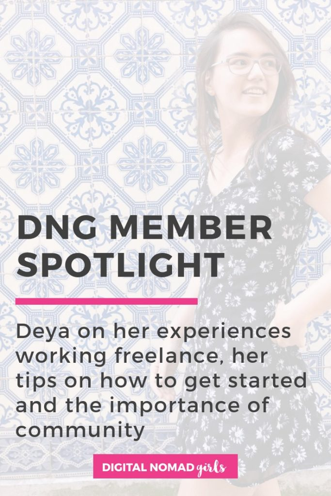 deya member spotlight digital nomad girls