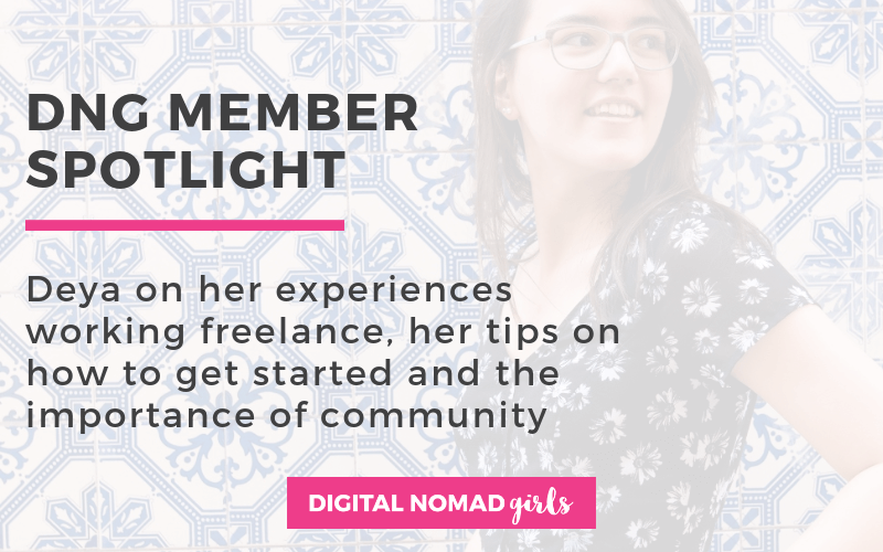 Meet Digital Nomad Girl Deya – Project and Content Manager
