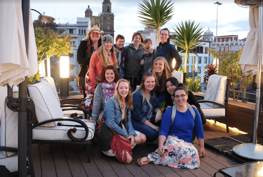 Chelse digital nomad girls retreat jennifer lachs las palmas