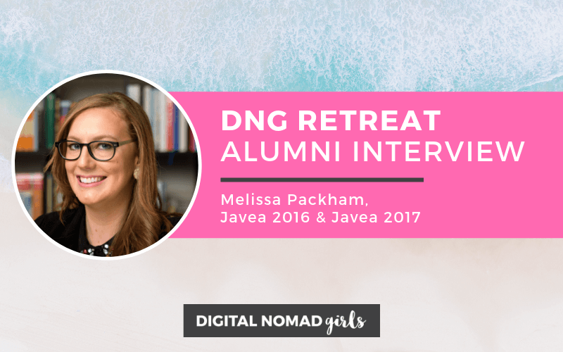 Digital Nomad Girls Retreat Alumni: Melissa