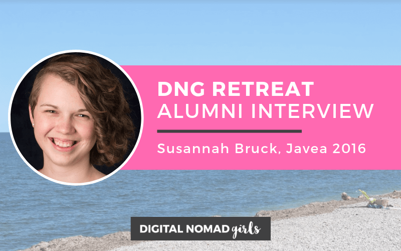Digital Nomad Girls Retreat Alumni: Susannah