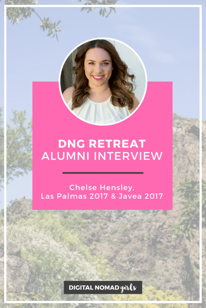 Retreat Alumni Pin Chelse pinterest javea las palmas digital nomad girls