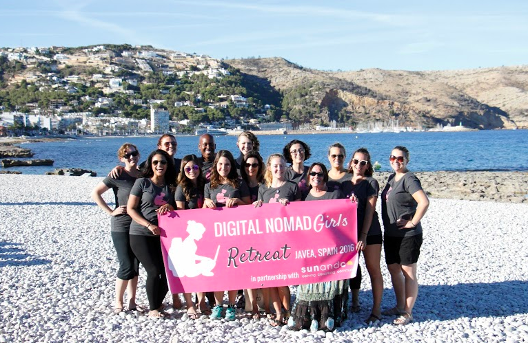susannah digital nomad girls retreat javea spain group