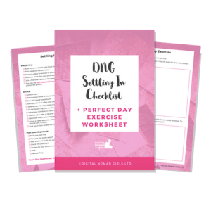 Settling In Checklist freebie Mockup