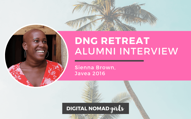 Digital Nomad Girls Retreat Alumni: Sienna