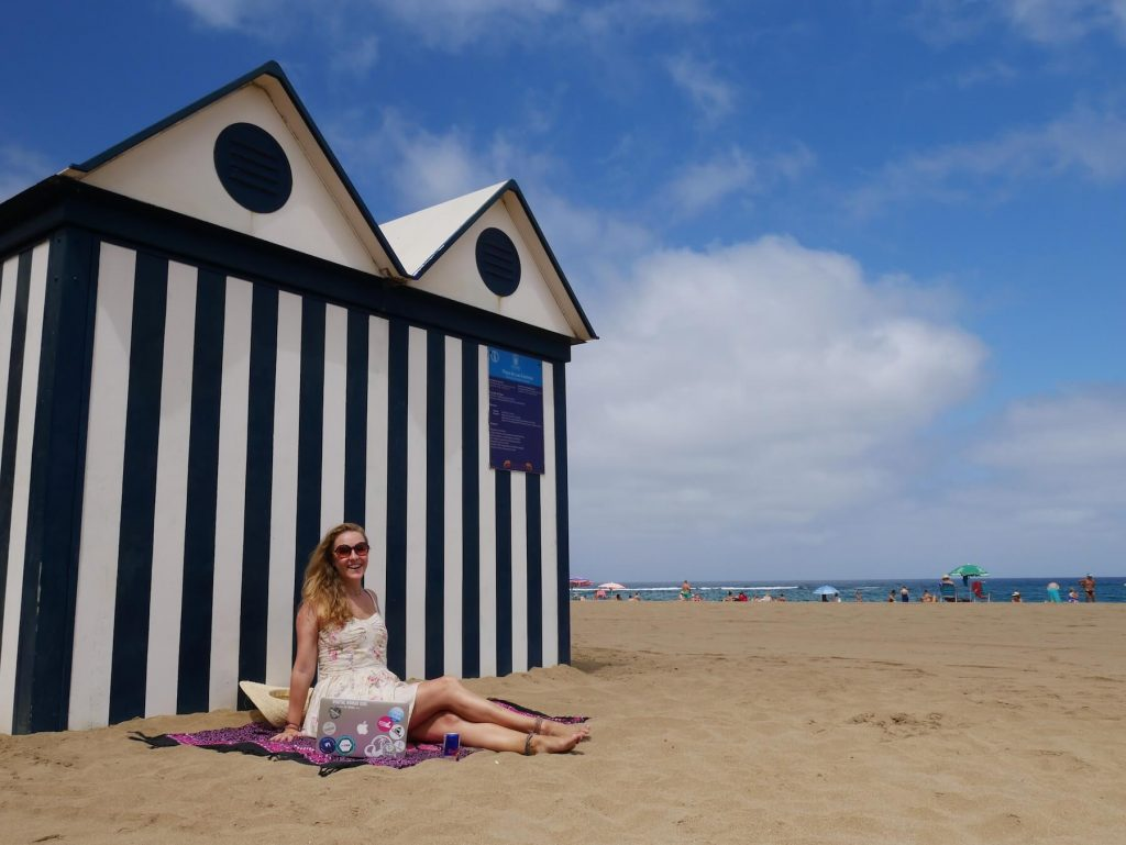 Las Palmas for Digital Nomad Girls Beach Hut