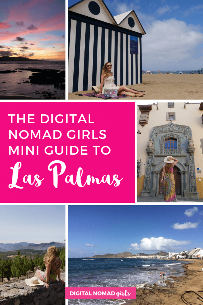 Las palmas digital nomad girls guide travel pinterest